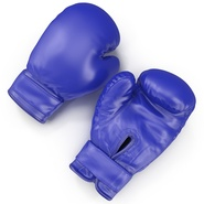 Boxing Gloves Blue. Preview 7