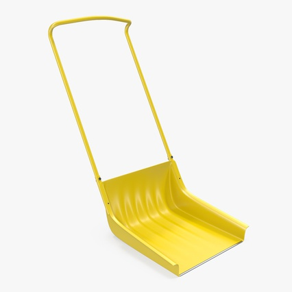 Snow Scoop Shovel. Render 2