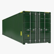 40 ft ISO Container Green