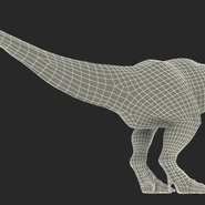 Tyrannosaurus Rex Rigged for Maya. Preview 33