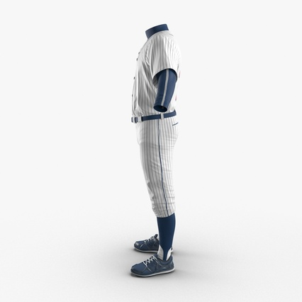 Baseball Player Outfit Generic 8. Render 6
