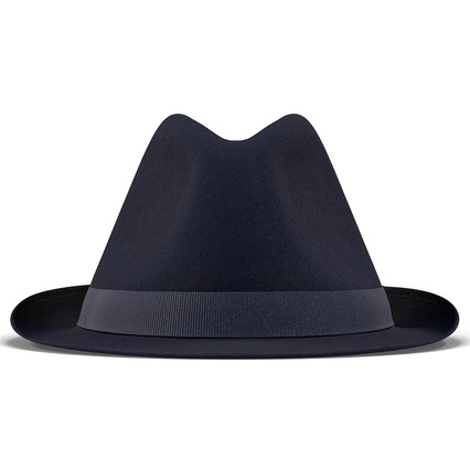 Fedora Hat Blue. Render 6