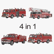 Fire Trucks Collection 2