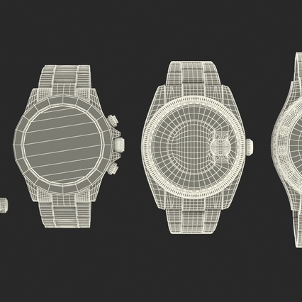 Rolex Watches Collection. Render 43