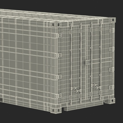 ISO Refrigerated Container. Render 43