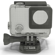 GoPro HERO4 Black Edition Camera Housing. Preview 5