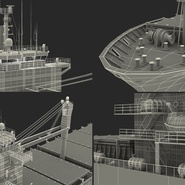 Sea Cargo Ship Generic. Preview 36