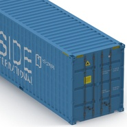 40 ft High Cube Container Blue 2. Preview 22