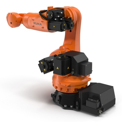 Kuka Robots Collection 5. Render 46