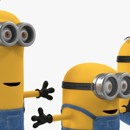 Minions Collection. Render 9