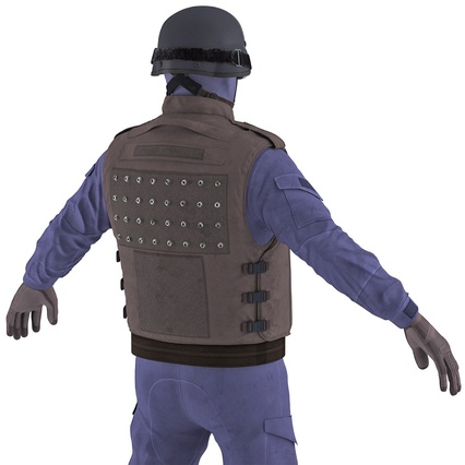 SWAT Uniform. Render 21