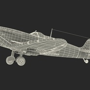 Royal Air Force Fighter Supermarine Spitfire LF Mk IX Rigged. Preview 6