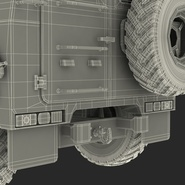 Russian Mobility Vehicle GAZ Tigr M Rigged. Preview 90