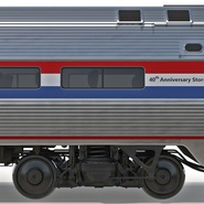 Railroad Amtrak Passenger Car 2. Preview 32