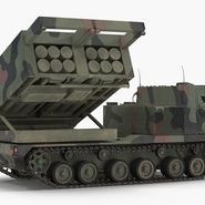 US Multiple Rocket Launcher M270 MLRS Camo. Preview 2