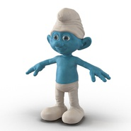 Smurf Rigged for Maya. Preview 2