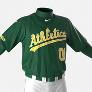 Baseball Player Outfit Athletics 3. Preview 20