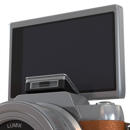 Panasonic DMC GF7 Brown. Render 33