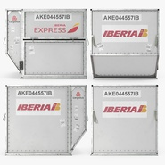 Airport Container Iberia Cargo. Preview 8