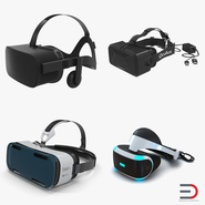 Virtual Reality Goggles Collection. Preview 1