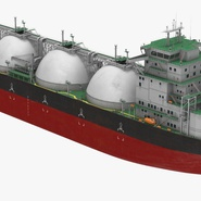 Gas Carrier Ship. Preview 10