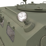 Russian Mobility Vehicle GAZ Tigr M Rigged. Preview 48