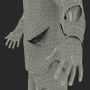 Zombie Rigged for Cinema 4D. Preview 68