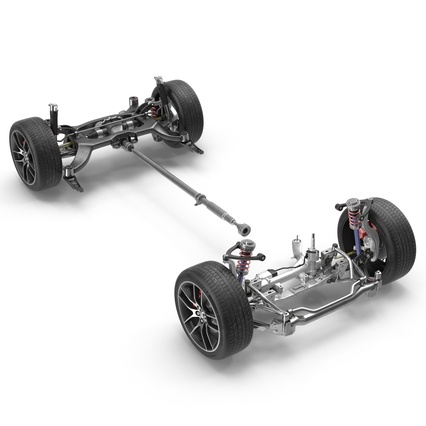 Sedan Chassis. Render 2