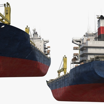 Sea Cargo Ship Generic. Render 8