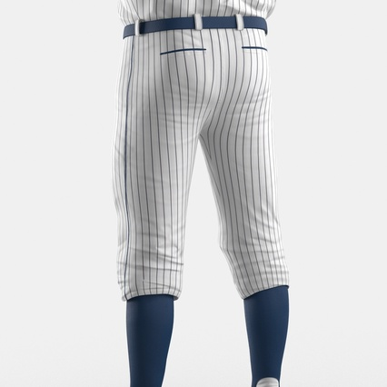 Baseball Player Outfit Generic 8. Render 25