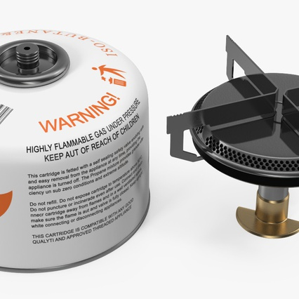 Single Burner Camping Gas Stove Kovea. Render 7