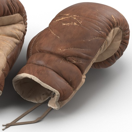 Old Leather Boxing Glove(1). Render 22