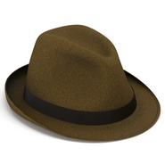 Fedora Hat Brown. Preview 16