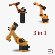Kuka Robots Rigged Collection 4