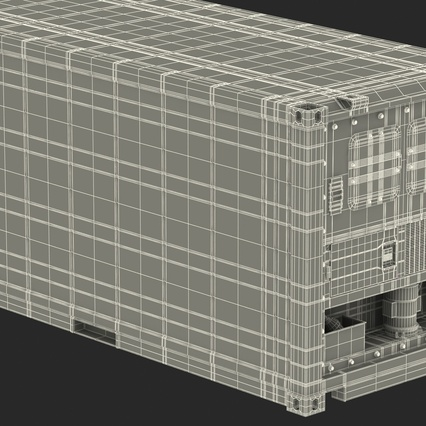 ISO Refrigerated Container. Render 42
