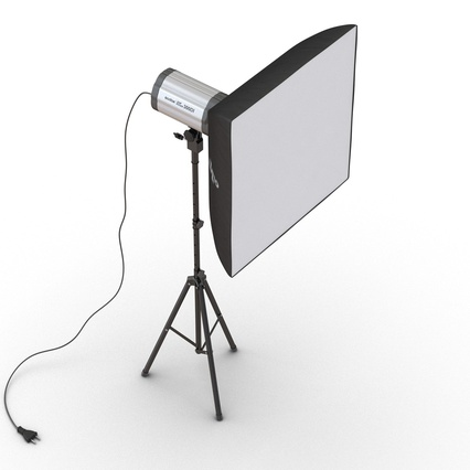 Photo Studio Lamps Collection. Render 55