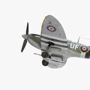 Royal Air Force Fighter Supermarine Spitfire LF Mk IX Rigged. Preview 4