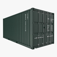 20 ft ISO Container Green