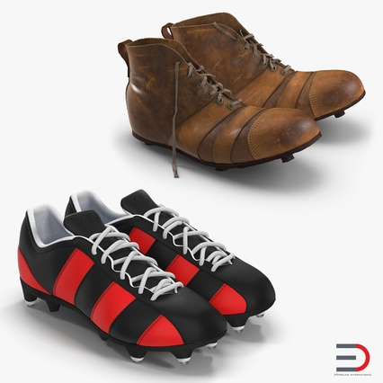 Football Boots Collection. Render 1