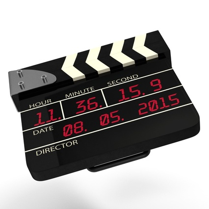 Digital Clapboard 2. Render 11