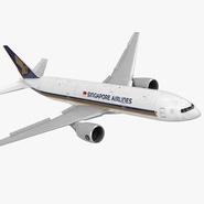 Boeing 777-200 Singapore Airlines Rigged