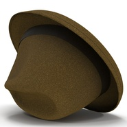 Fedora Hat Brown. Preview 19