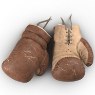 Old Leather Boxing Glove(1). Preview 9