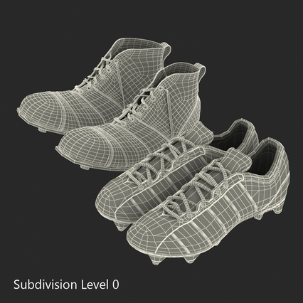 Football Boots Collection. Render 47