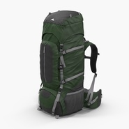 Large Camping Backpack Green
