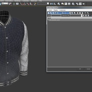 Blue Baseball Jacket. Preview 13