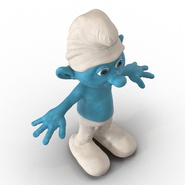 Smurf Rigged for Maya. Preview 15