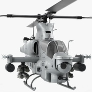 Attack Helicopter Bell AH 1Z Viper