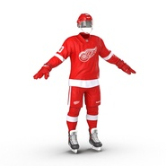 Hockey Equipment Detroit Red Wings. Preview 8