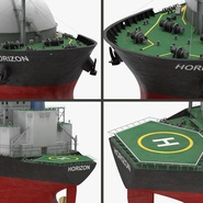 Gas Carrier Ship. Preview 20